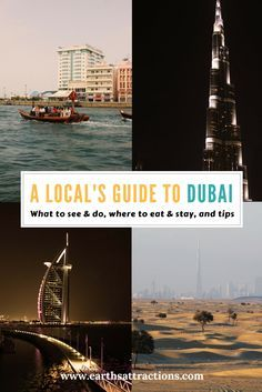 A local's travel guide to #Dubai, UAE - a complete #travelguide for Dubai written by locals. The guide includes famous places to see, off the beaten path attractions in Dubai, restaurants in Dubai, hotels in Dubai, and tips