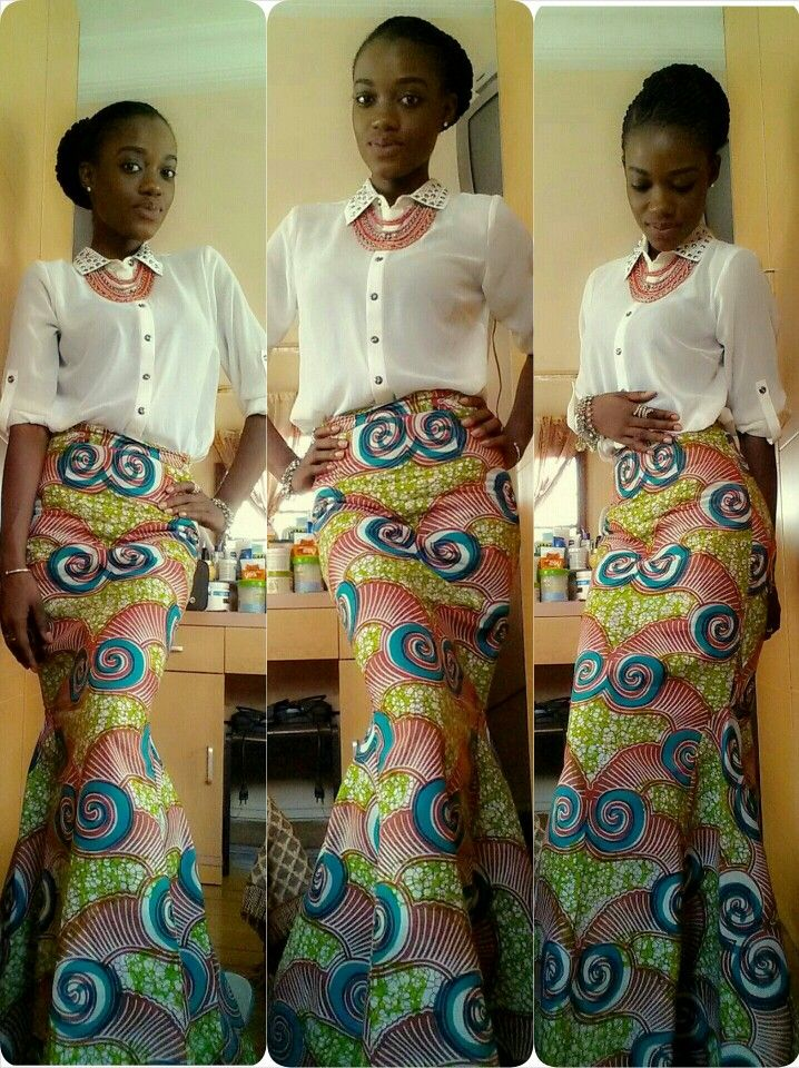 African Fashion Skirts And Blouses Teethcat Com