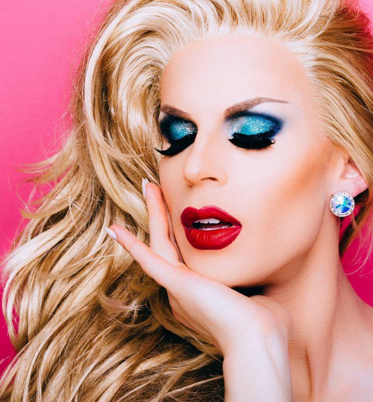 Beauty Queen Makeup: 491 Best Queens/ CD/ Trans/ Gender Fuckers Images On Pinterest