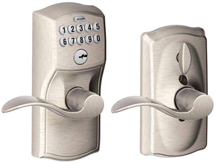 how to change code on schlage keypad door lock 4 digit