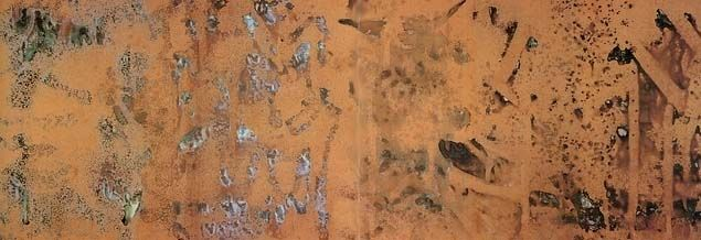 """""""Oxidation Painting"""", 1978. Andy Warhol."""