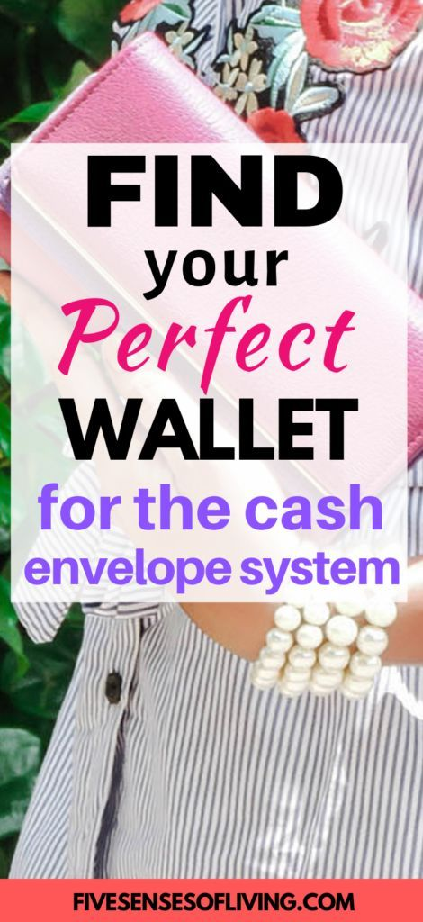 8 Chic Cash Envelope Wallets For Gaining Control Of Your Money