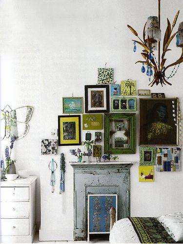 Home & Garden: L'appartement londonien de Liza Giles