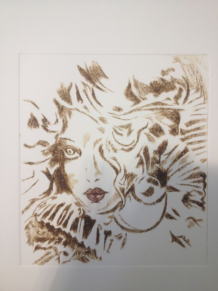 Etching by Hannah Mounsey. First print.