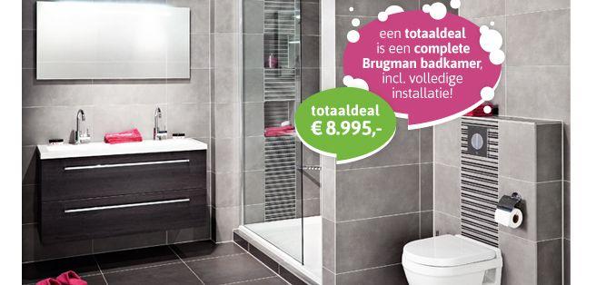 Stunning Brugman Badkamers Totaaldeal Pictures - Modern Design Ideas ...