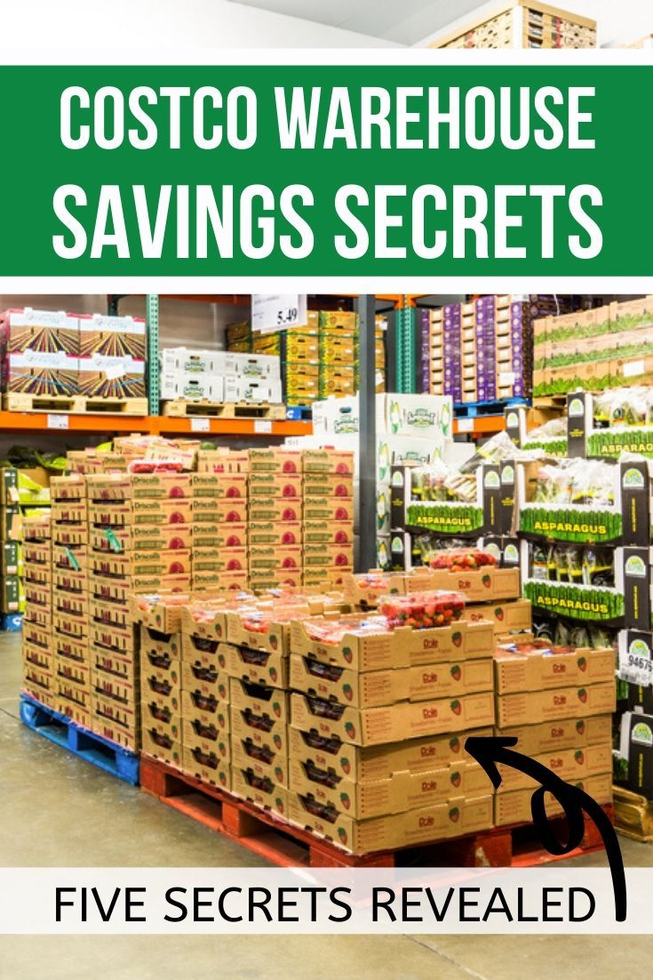 Costco Warehouse Savings Secrets In 2020 With Images Costco