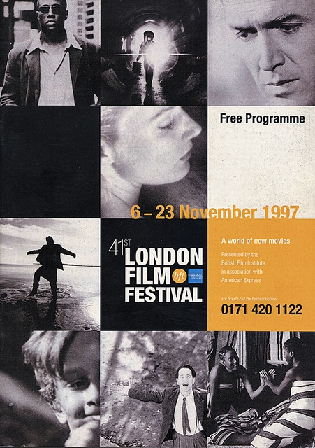 London Film Festival posters, 1957-2010 | Retronaut