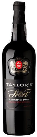 Taylor's Select Reserve Ruby. Gamme actuelle.