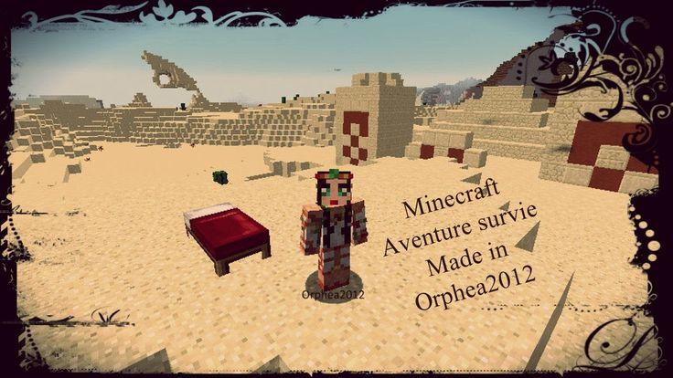 Ep 3 / Minecraft / Survie made in Orphea2012 / Vivre, mourir, manger? / ...