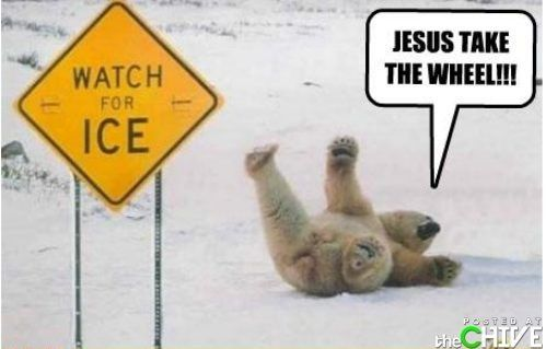 Watch for ice: Make Me Laughing, Polar Bears, Jesus, Wheels, Songs, Carrie Underwood, Funny Photo, Can'T Stop Laughing, Feelings