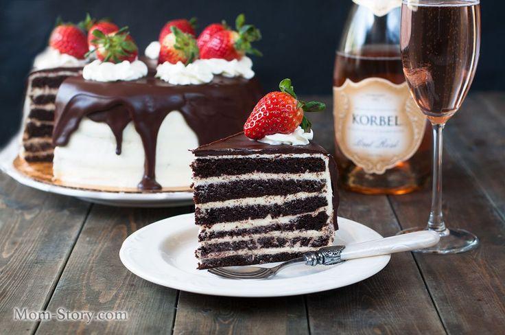 шоколадный торт очень вкусный рецепт с пошаговыми фото