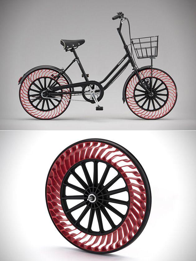 Say Goodbye To Flats Bridgestone S Innovative Air Free Bike Tires