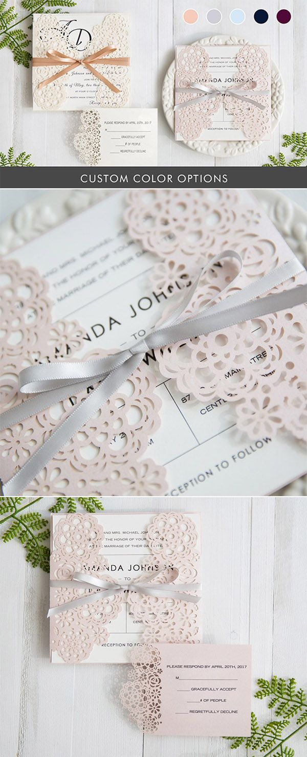 154 best Wedding Invitations images on Pinterest | Bridal parties ...
