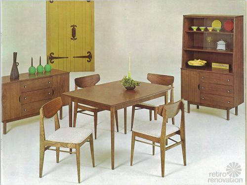 Vintage Stanley Furniture Mix \'n Match line by H. Paul Browning ...