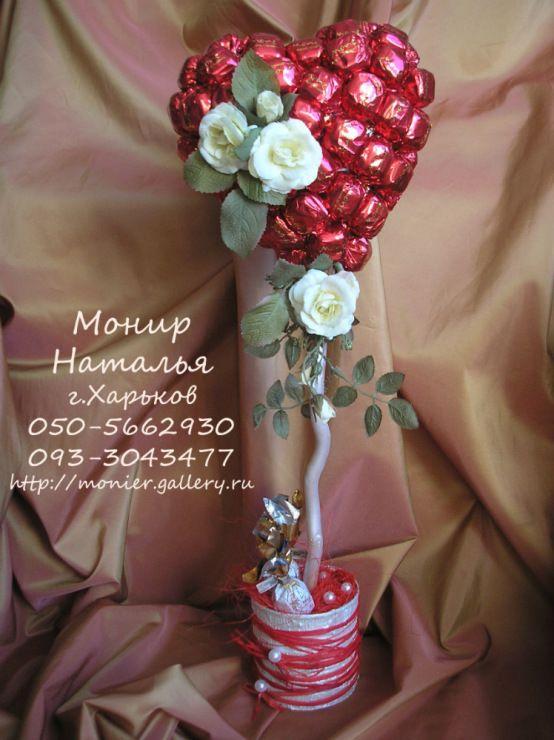 Gallery.ru / Фото #48 - Свадебные букеты из конфет - monier