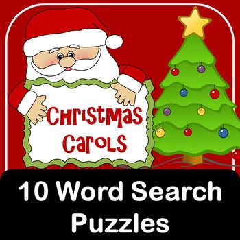 Christmas Word Search - dltk-holidays.com