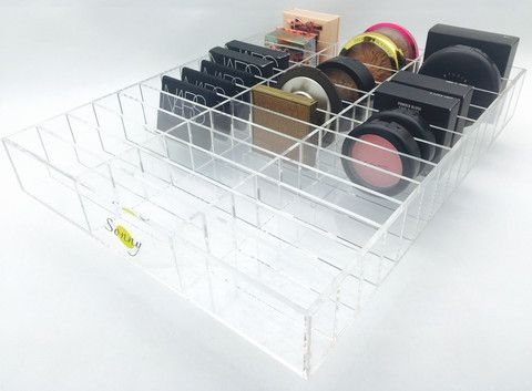 All Alex Organizers are designed to fit inside Ikea Alex drawer sets Unique and gorgeous luxury acrylic drawer organizer. Crystal clear with superb quality. This will fit in most vanity drawers or can