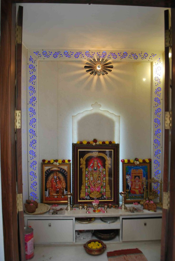 Puja Room Design: Pooja Mandir Design In Home.