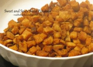 Sweet and Spicy fried Sweet Potatoes ~ Actifry or stove ~ Change up dinner time.