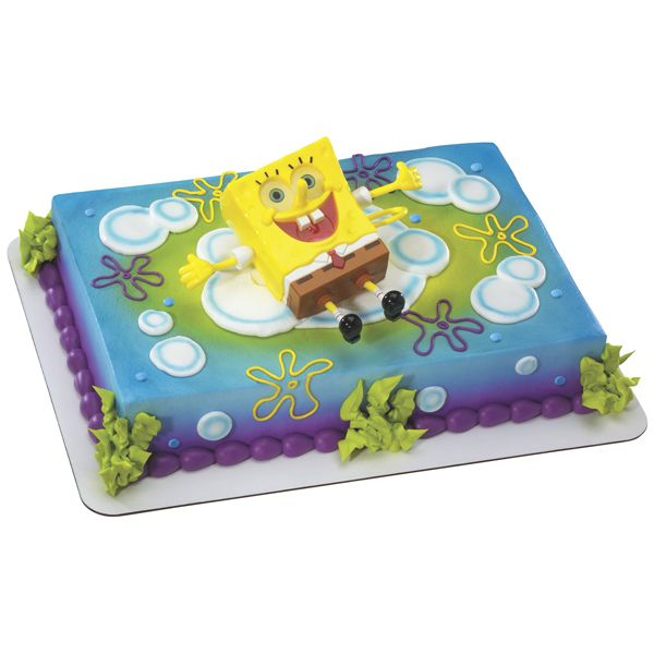 SpongeBob Ticklepants Cake via Publix Cakes the Sweetest