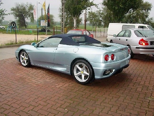 2002 Ferrari 360 Modena Spider F1 Unregistered Collector New