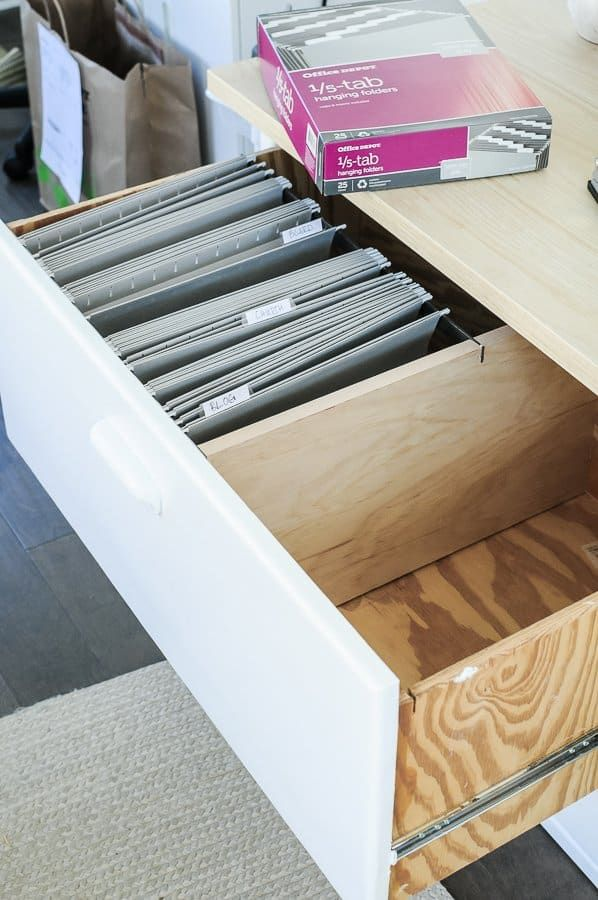 Perfect File Cabinet Organization In 4 Simple Steps Filing