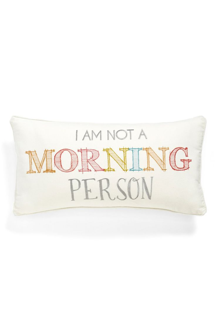 This cute, colorful throw pillow spells it out perfectly. Anniversary Sale Pinterest ...