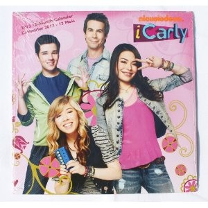 I Carly 2012 16 Month Wall Calendar iCarly