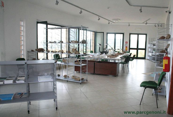 Il laboratorio !  The laboratory !
