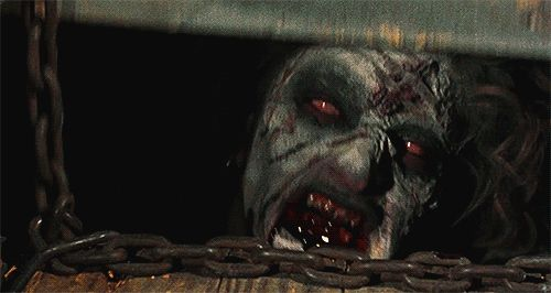 scary gif gifs movies movie horror Horror Movies evil dead The Evil Dead evil dead 2013 evil dead remake Evil Dead 1981 evil+dead+gif