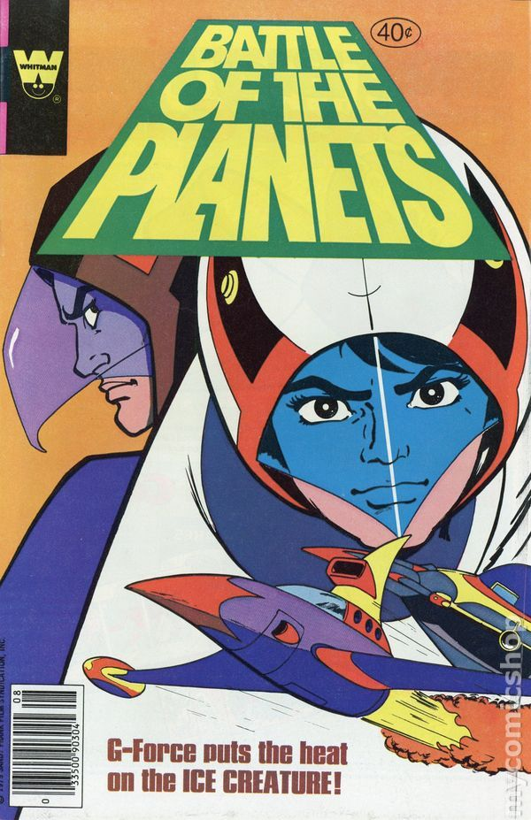 G Force Cartoon Characters : Best battle of the planets g force images on