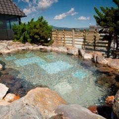 私が皆さんにおすすめしたい旅館が北海道湯の川温泉の湯元啄木亭 最上階にある露天風呂は開放感抜群でとっても気持ちいいんですよ( この旅館のレストランには道南市別グルメコーナーがあって道南市の郷土料理が味わえます tags[北海道]