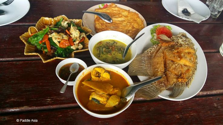 Food is a big part of the fun. You'll get a wide variety of tasty Thai food.  Don't worry if you can't eat spicy food. They make it to suit.  Vegetarian food is also readily available.