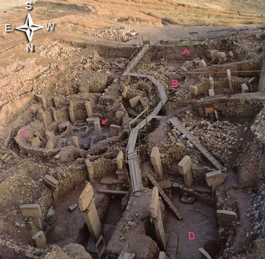 Earthfiles.com Science | Part 2:  Mysterious 12,000-Years-Old Gobekli Tepe - Odd Pillar Creatures, Bizarre Totem and Mouthless Man