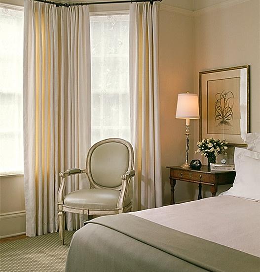 Bedroom Window Treatments Design, Pictures, Remodel, Decor and Ideas: Idea, Merrill Design, Master Bedrooms, Window Treatments, Photo, Design Studios, San Francisco, Traditional Bedroom