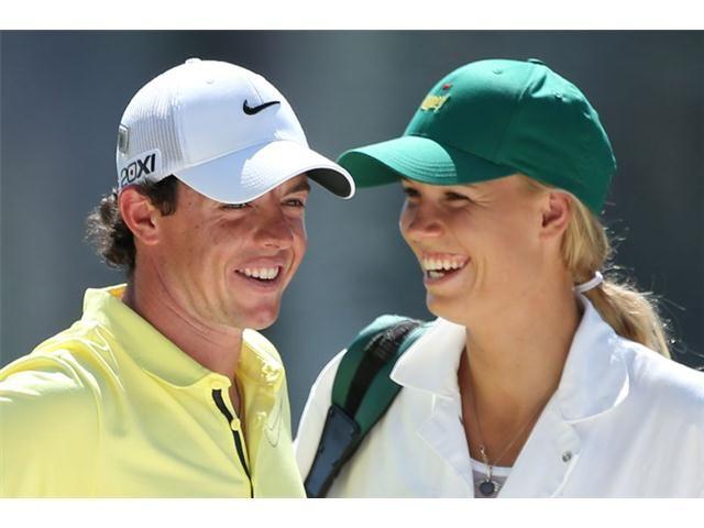 Rory McIlroy and girlfriend Caroline Wozniacki