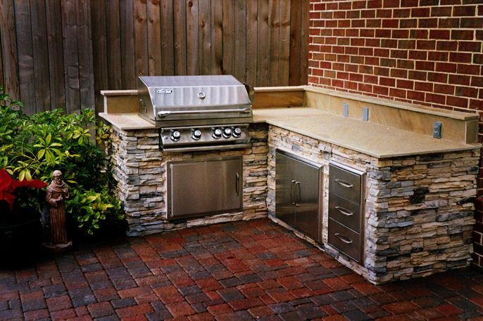 1000 Images About Outdoor Kitchen Patio Deck On Pinterest Planters Decks And Grill Station