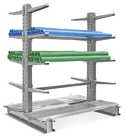 Cantilever Racks Lumber Racks In Stock Uline Garage