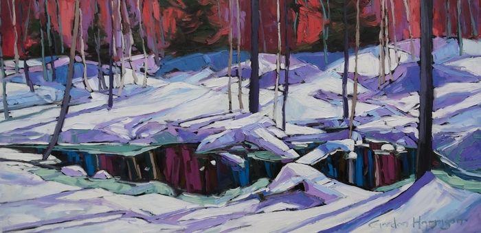 Let it snow! Wintery works by Canadian artists gordon harrison