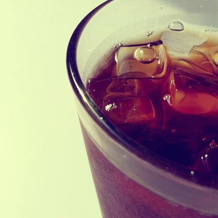 Bourbon and coke.