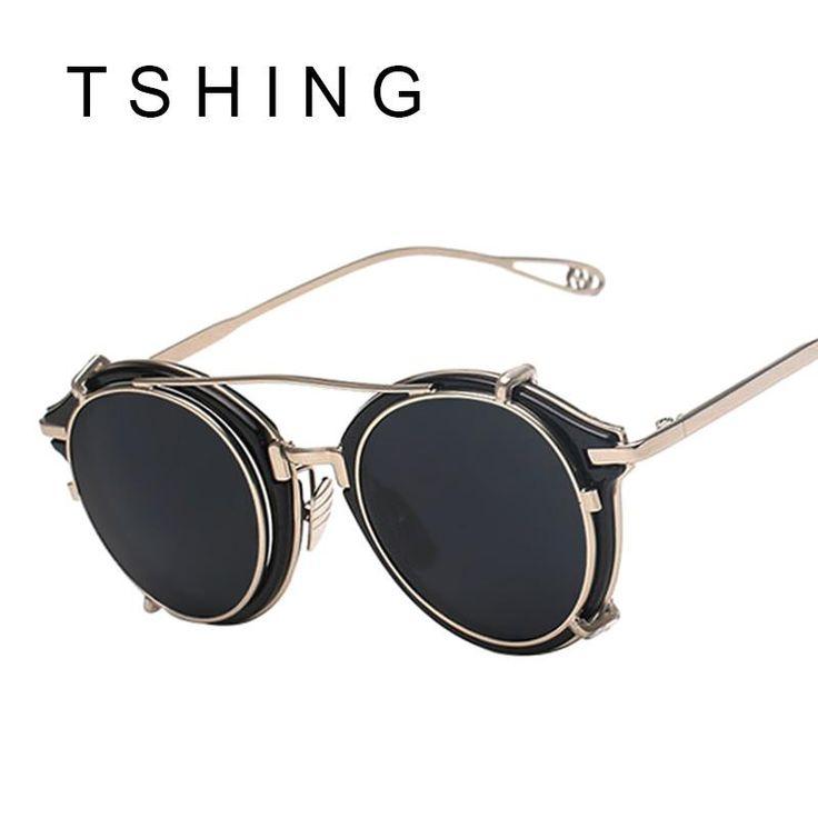 Leonard depose rectangular certified vintage sunglasses