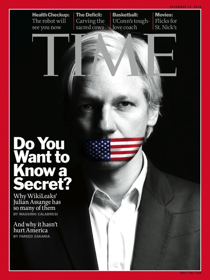 Time with Julian Assange