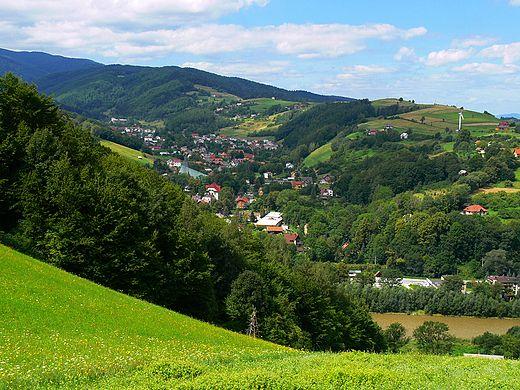 Rytro, Beskid Sądecki, Western Carpathia.