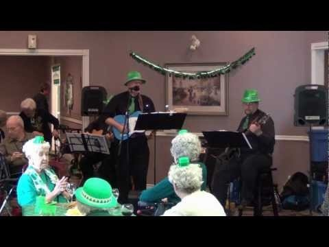 Grateful We're Not Dead performing at Carleton Place Manor on St. Patrick's Day.
