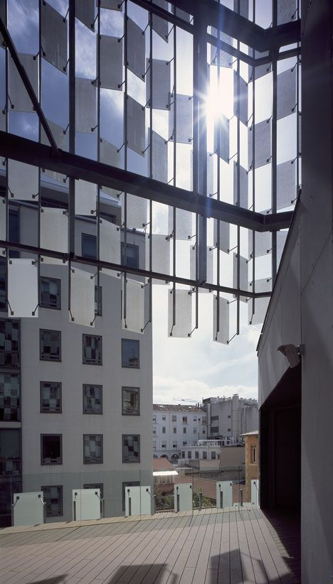 The FRAC (Fond Regional D'art Contemporain), Marseille, France designed by Kengo Kuma and Associates
