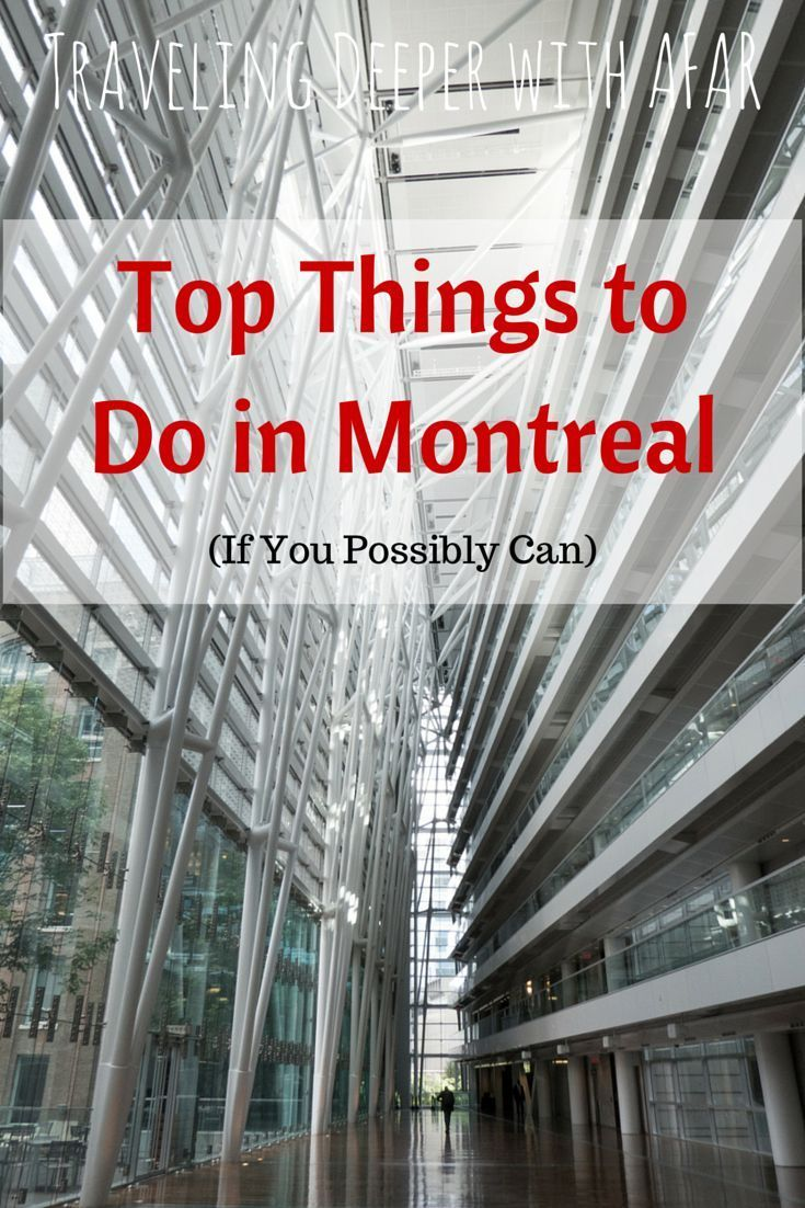 The top things to do in Montreal? This is what I did to travel deeper into Montreal and experience the city from a local perspective with AFAR Magazine.