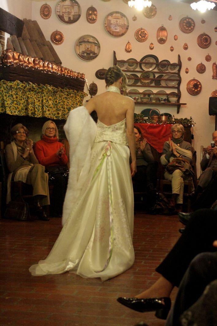 clothing fabric hand painted seta/lino/ cotone abiti da sposa e abiti importanti