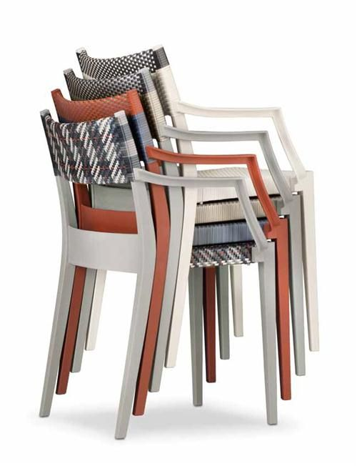 Contemporary Outdoor Dining Chair from Dedon