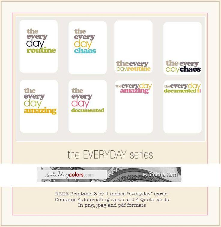"Free printable ""everyday"" cards"