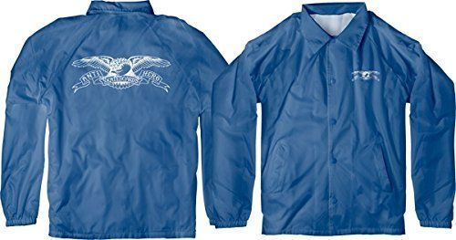 Anti Hero Skateboards Basic Eagle Double Windbreaker Royal / White Youth Jacket – Youth Medium: One (1) Anti Hero Skateboards Basic Eagle…